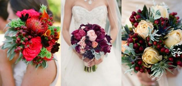 The Berry Bridal Bouquet