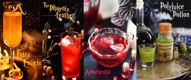 Harry Potter theme wedding cocktails