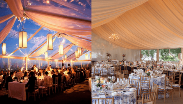 Beautiful Outdoor Wedding Tent Ideas - A2z Wedding Cards