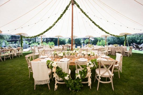 Minimalistic charm tent for wedding- A2z Wedding Cards
