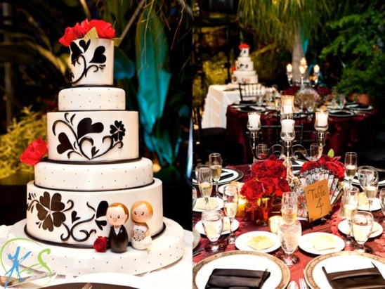 Spanish-Theme-Wedding-Cake-A2zWeddingCards