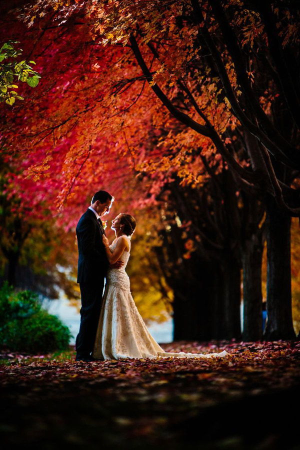 gorgeous-fall-wedding-photos-of-couple-under-maple-trees-8-A2zWeddingCards