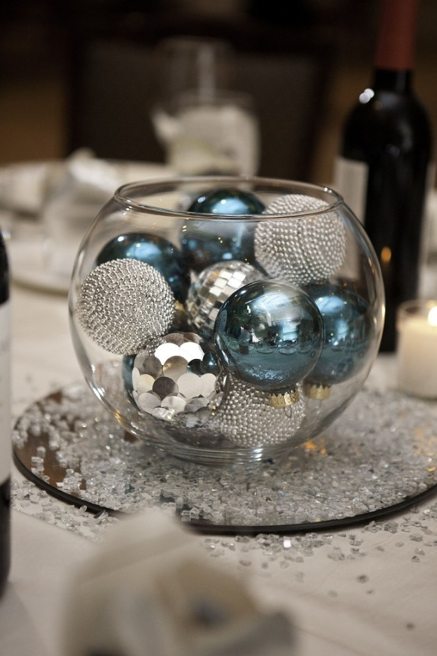 Shiny centrepieces