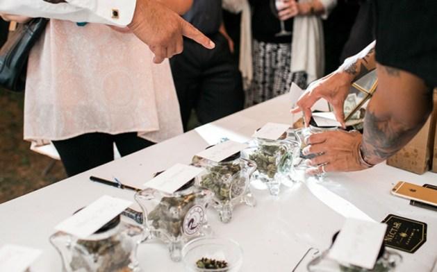 Cannabis wedding bar