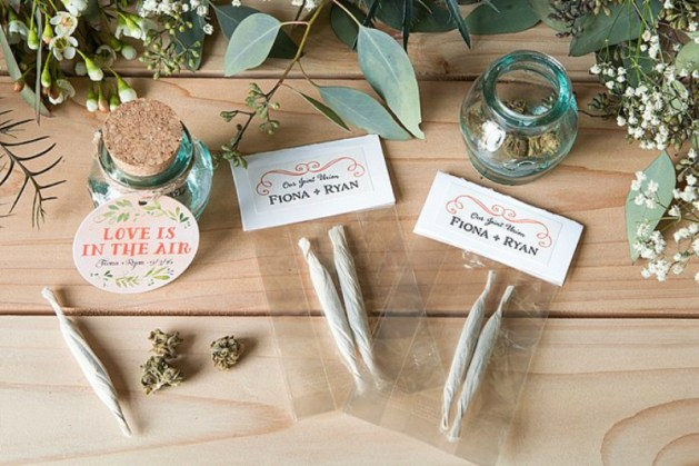 How to serve cannabis in wedding 2