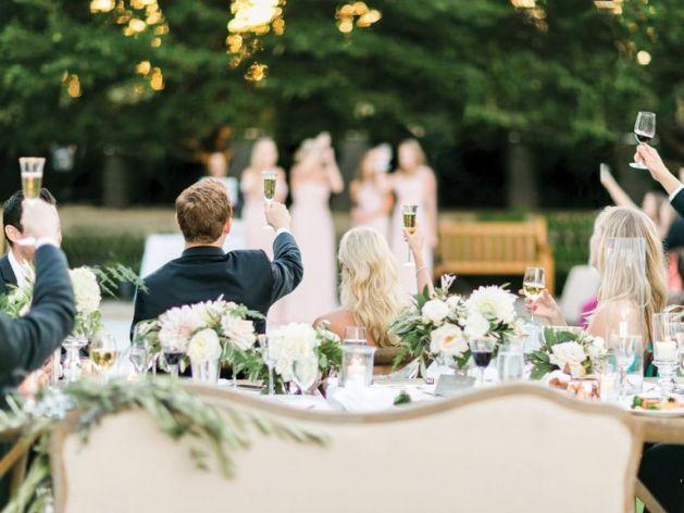 The wedding toasts