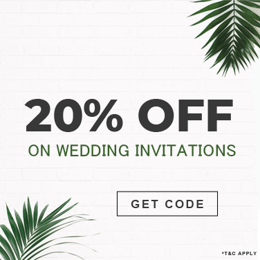 Wedding Invitations Sale 20% OFF - A2zWeddingCards