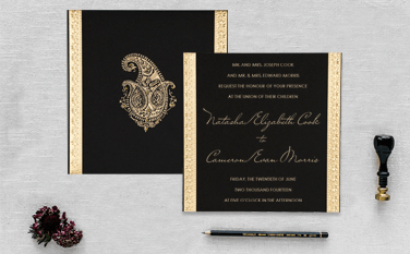 Designer Wedding Invitations-A2zWeddingCards