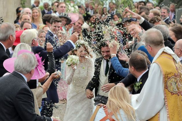 Kit Harington and Rose Leslie's Wedding 10
