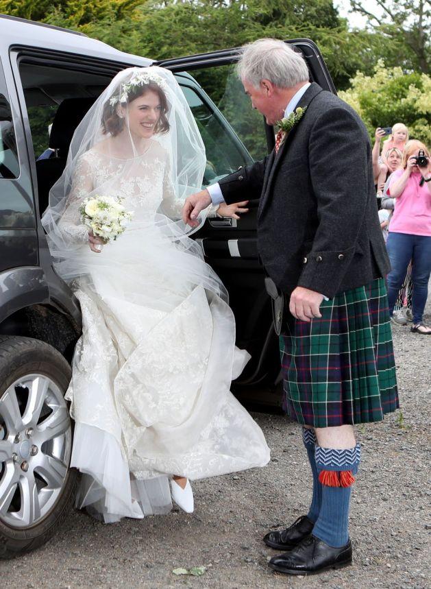 Kit Harington and Rose Leslie's Wedding 4