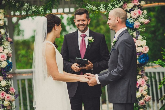 An officiant is a must