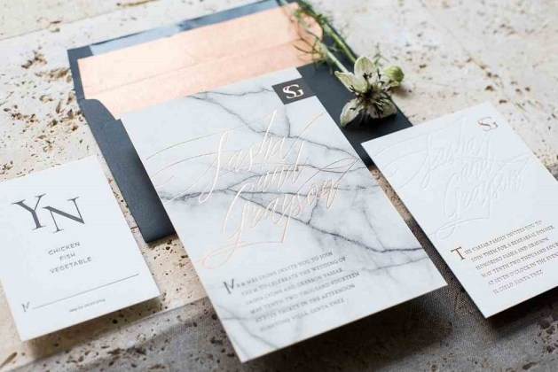 Amazing 2018 Wedding Trends Of Gorgeous Marble Ideas