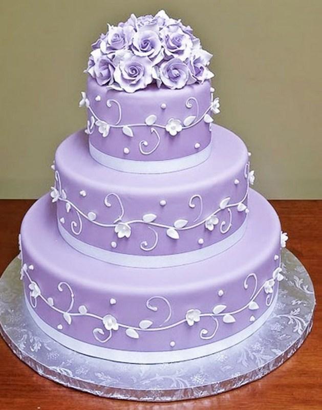 Lavender Wedding Cakes
