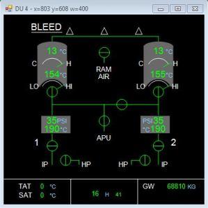 ECAM System Display | A320 Simulator