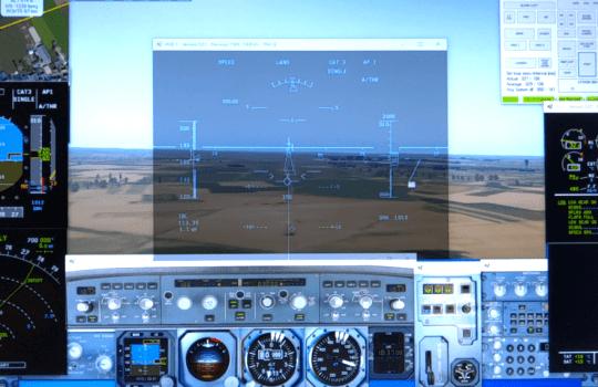 Xplane 11 interfacing with A320Sim