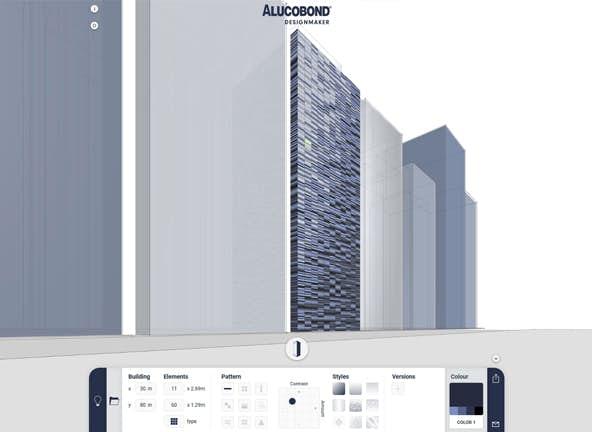 Alucobond design maker
