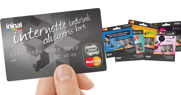 بطاقة ininal kart ماستر كارد مسبق الدفع في تركيا