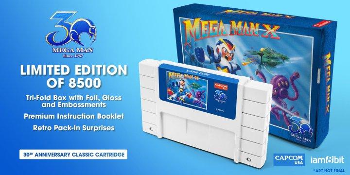 Mega Man X - 30th Anniversary Classic Cartridge