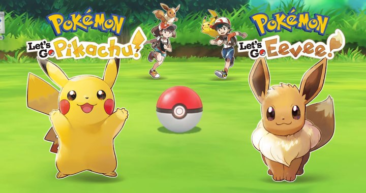 okémon: Let's Go, Pikachu! and Pokémon: Let's Go, Eevee!