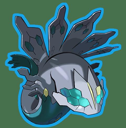 Legendary Pokémon Shiny Zygarde