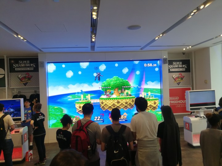 Super Smash Bros at Nintendo NY