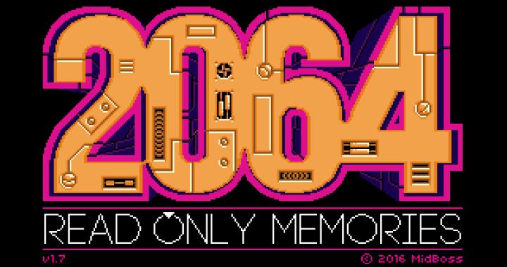 2064: Read Only Memories Integral screenshot