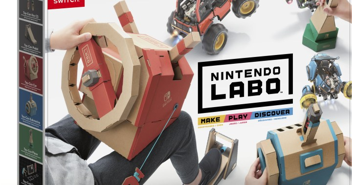 Hop into the Driver's Seat with Nintendo Labo: Vehicle Kit, Now in