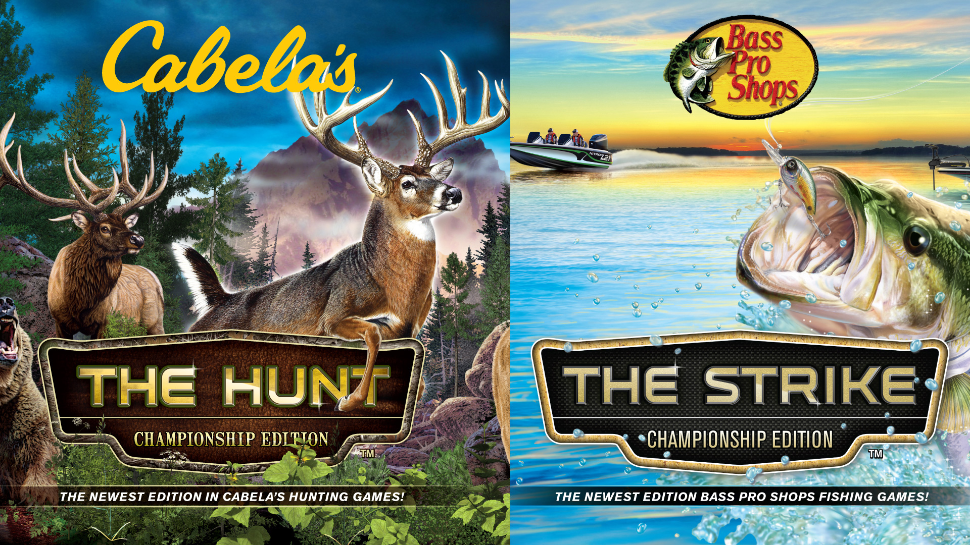 Planet Entertainment Reveals Cabela S The Hunt And Bass Pro Shops The Strike Championship Editions For Nintendo Switch Blog Ppn