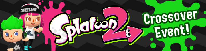 Animal Crossing: Pocket Camp Splatoon 2 Crossover Event