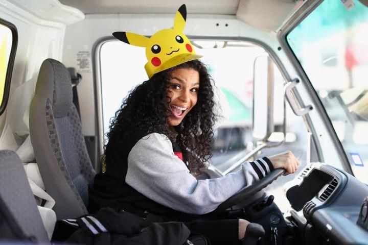 Pokémon fan Jordin Sparks