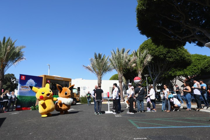 Pikachu And Eevee Embark on a Road Trip Across the U.S. To Demo New Pokémon Game