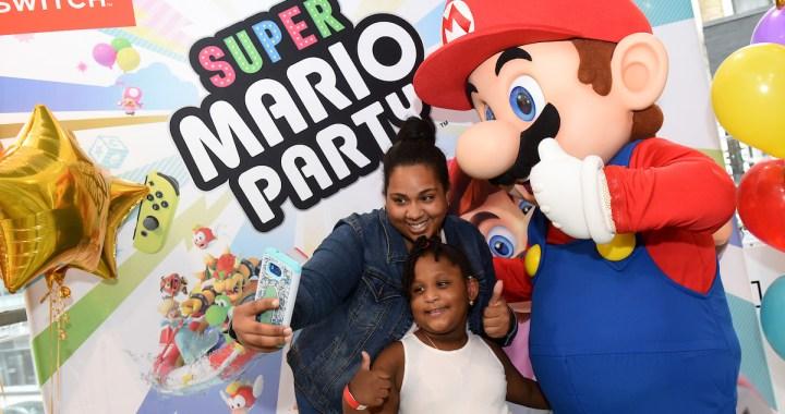 Super Mario Party and Luigi's Mansion Launch Event