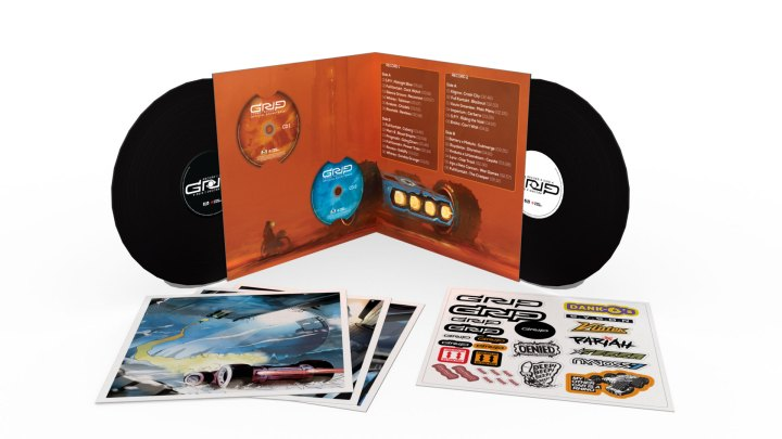 GRIP: Combat Racing Double Vinyl Soundtrack Limited Collector's Edition