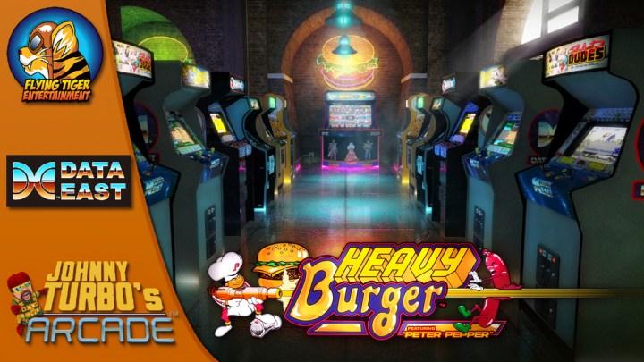 Johnny Turbo's Arcade: Heavy Burger