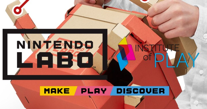 Nintendo Partners with Institute of Play to Bring Nintendo Labo to Schools