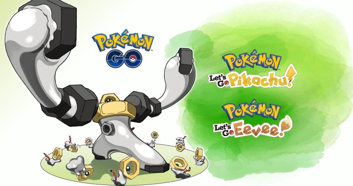 MELMETAL, EVOLUTION OF MYTHICAL POKÉMON MELTAN, DISCOVERED