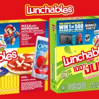 Nintendo Throws a Super Mario Party with Lunchables this Fall