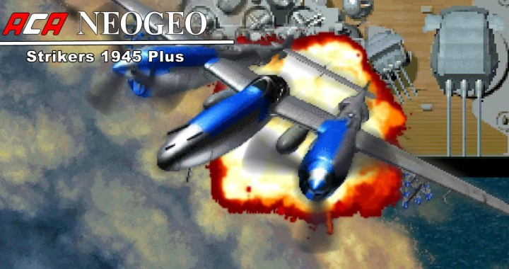 ACA NEOGEO STRIKERS 1945 PLUS