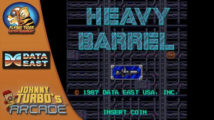 Johnny Turbo's Arcade: Heavy Barrel