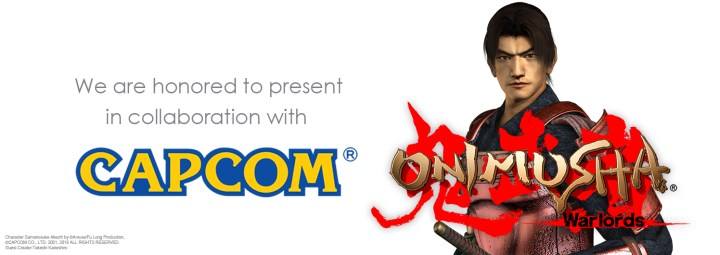 NEOBARDS ENTERTAINMENT COLLABORATES WITH CAPCOM TO PRESENT ONIMUSHA: WARLORDS