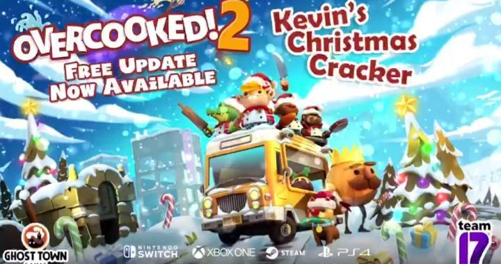 OVERCOOKED 2'S FREE FESTIVE UPDATE