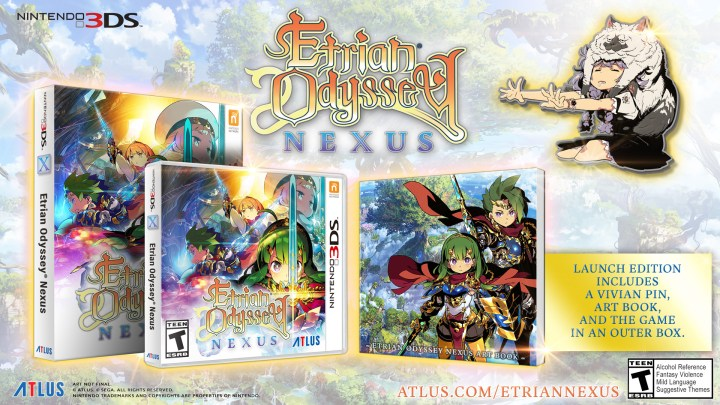 Etrian Odyssey Nexus launches for Nintendo 3DS™ on February 5, 2019