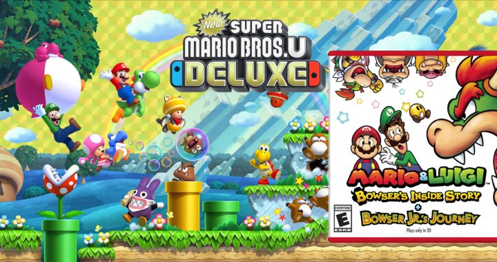 Two Mario Games Continue Nintendo Switch and Nintendo 3DS Momentum Into 2019