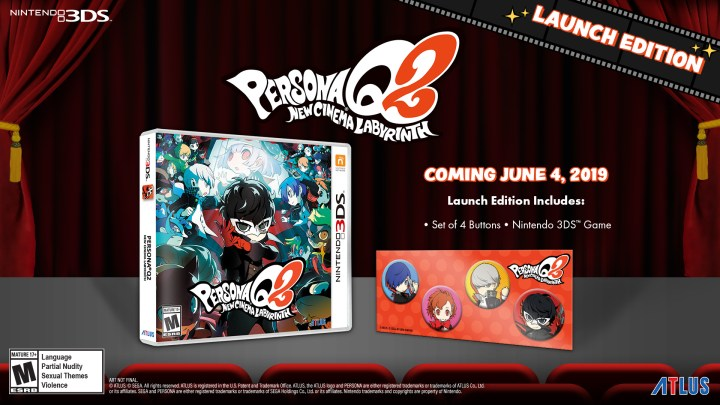 Launch Edition for Persona Q2: New Cinema Labyrinth