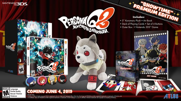 "Persona Q2: New Cinema Labyrinth ""Showtime"" Premium Edition"