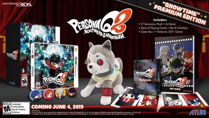 "Persona Q2: New Cinema Labyrinth ""Showtime"" Premium Edition"