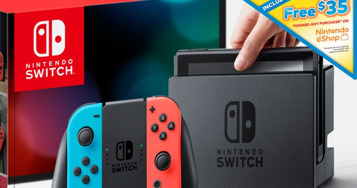 Get $35 Nintendo eShop Credit When You Buy a Nintendo Switch System