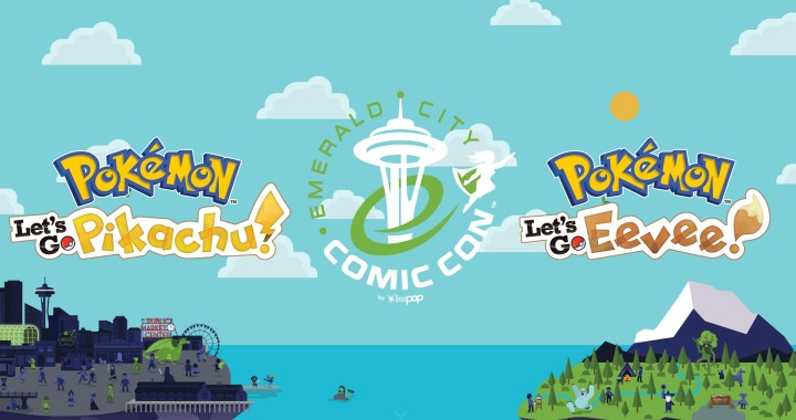 Pokémon Play Zone! in Seattle during Emerald City Comic Con