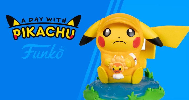 A Day with Pikachu: Rainy Day Pokémon Figure by Funko
