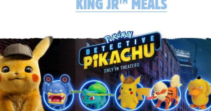 Detective Pikachu Comes to Burger King